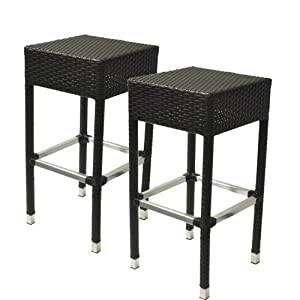 30 inch wicker outdoor backless bar stool set of 2 barstools without backs posters. Black Bedroom Furniture Sets. Home Design Ideas