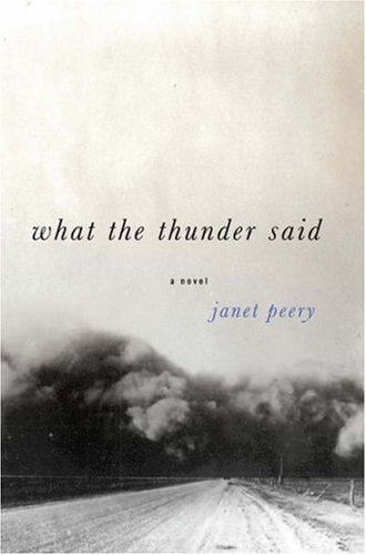 What the Thunder Said: A Novella and Stories, JANET PEERY