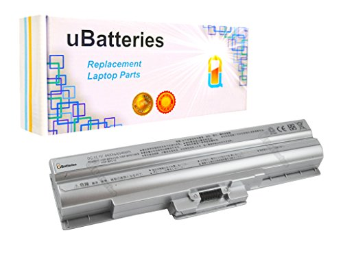 Click to buy UBatteries Laptop Batteries Sony VAIO VGN-FW190F VGN-FW190CU VGN-FW190E VGN-FW190EEW VGN-FW190EFH VGN-FW190EFW VGN-FW190EGH - 4400mAh, 6 Cell (Silver) - From only $43.95