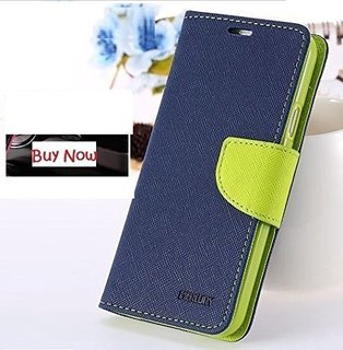 HTC DESIRE 820 Flip Cover Mercury Case ( BLue ) By Joy Premium  available at amazon for Rs.249