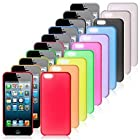 RayShop - Ultra-thin Protection Case 0.4mm for iPhone5c(Assorted Colors) ( Color : White )