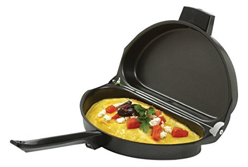 Norpro Nonstick Omelet Pan, Black