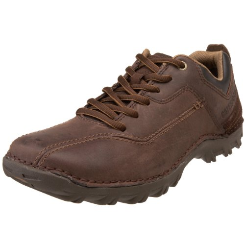 Caterpillar Men's Movement Lace-Up,Chocolate,11 M US