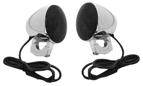 Cycle Sounds 3 in. All Black Premium Speaker System for Harley Davidson (exc. F - One Size (Cycle Sounds compare prices)