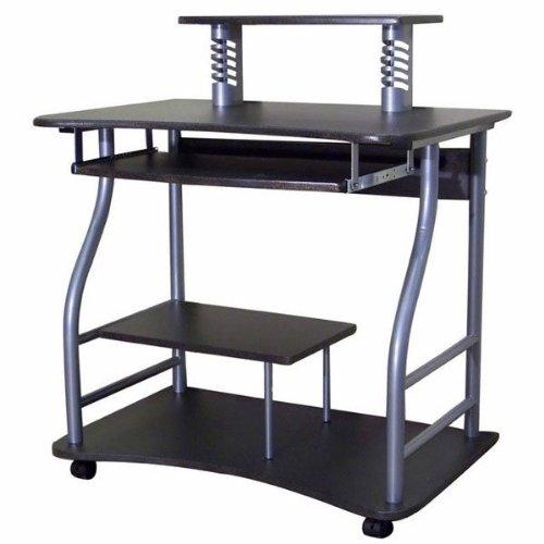 Buy Low Price Comfortable Contemporary Storage Computer Cart (Black) (32″Wx22″Dx36″H) (B003SA6MO2)