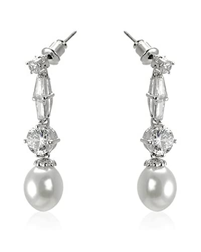 CZ BY KENNETH JAY LANE Pendientes Fishtail
