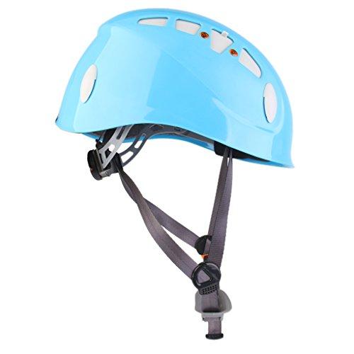 Alpiniste-Casque-Descalade-De-La-Scurit-Extrieure-Rappel-Protecteur-Bleu