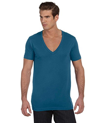 Bella + Canvas Unisex Jersey Short Sleeve Deep V-Neck Tee