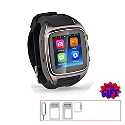 V.one Smart Watch with SIM Card Watch Phone (S05-Gun Color)