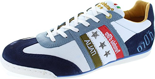Pantofola d'Oro Imola Romagna Uomo, Sneaker uomo bianco White, bianco (White), 43