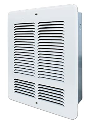 King W2420 240-Volt 2000-Watt Electric Wall Heater, Bright White