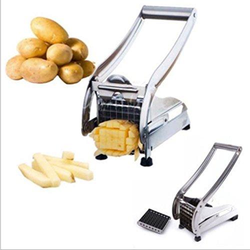 Edelstahl-Chip-Potato-Chipper-Cutter-Chopper-Slicer-Streifenschneider-Kartoffelschneider-Perfect-Selbst-Gemachte-Chips-Zu-Machen-Franzsisch-FriesGemse-Schlagstcke