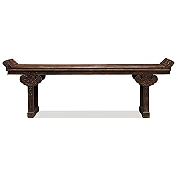 ChinaFurnitureOnline Elmwood Vintage Altar Style Console Table