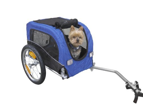 Booyah Small Dog Pet Bike Bicycle Trailer Pet Trailer front-324921