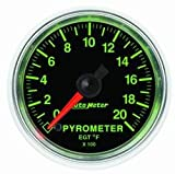 Auto Meter 3845 GS Electric Pyrometer Gauge Kit