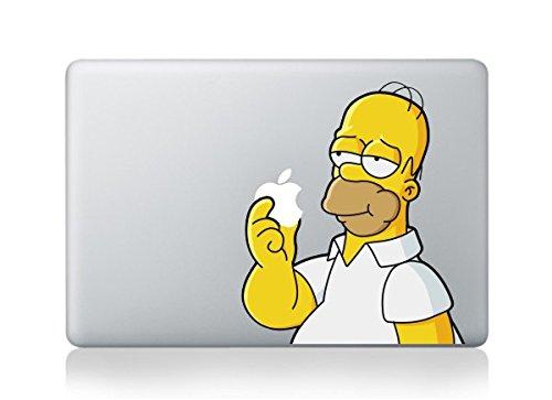 ザ・シンプソンズ The Simpsons ホーマー Macbookpro/air13インチ対応 ステッカー 【クリーナー付き】 並行輸入品 14.77