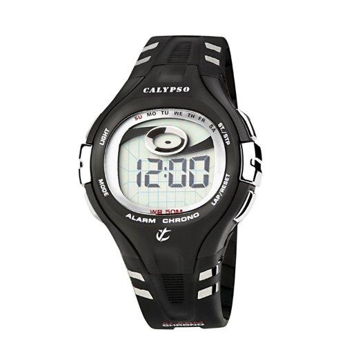 Calypso Men's K5310/2 Black Strap Digital Watch