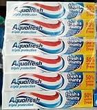 Aquafresh Fresh & Minty Toothpaste 50% Free - 12 x 75ml
