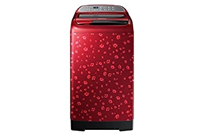 Samsung WA75H4010HP/TL Fully-Automatic Top-Loading Washing Machine (7.5 Kgs, Scarlet Red)
