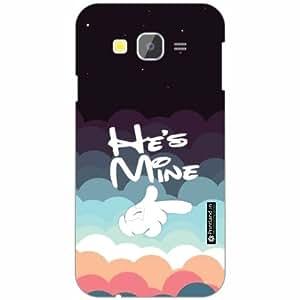 Samsung Galaxy Grand Prime SM-G530H Back Cover - Silicon He is mine Designer Cases