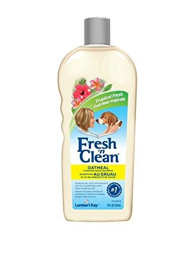 Fresh n Clean Oatmeal & Baking Soda Shampoo, 18 oz. (Baking Soda Dog Shampoo compare prices)