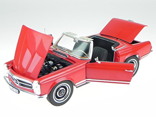 Noreve Mercedes R113 230 SL Pagode rot Modellauto Norev 1:18