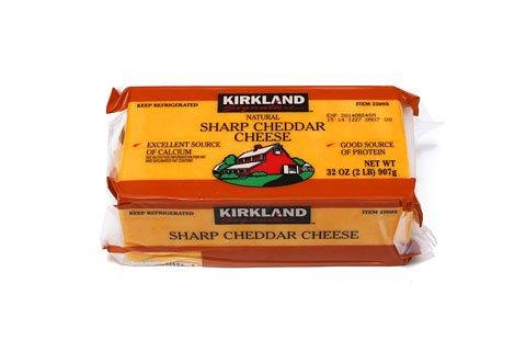 ■コストコ■カークランド シャープチェダーチーズ907g