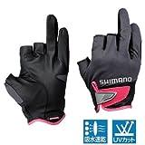 シマノ 3D・アドバンスグローブ3 チャコール L GL-021N