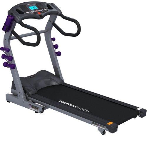 Maxima Fitness MF-2000-ProFX.Evolution-P Auto Incline Folding Treadmill (Home Use) - Grey/Black, Medium