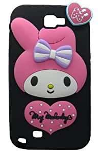 Snooky Disgner Soft Back Cover For Samsung Galaxy Note 2 N7100 Td8820