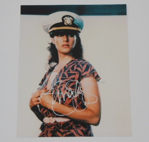 Debra Winger Actress An Officer and a Gentleman Hand Signed Autographed 8x10 Glossy Photo Loa