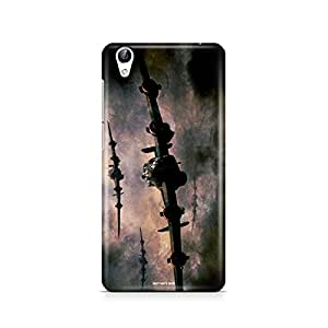 Motivatebox - Vivo Y51L Back Cover - Old Warplanes Polycarbonate 3D Hard case protective back cover. Premium Quality designer Printed 3D Matte finish hard case back cover.