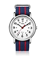 TIMEX Reloj de cuarzo Unisex Unisex Weekender Slip Through Azul 38 mm