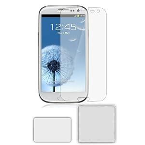 6 x Membrane Pellicola Protettiva per Samsung GT-i9300 Galaxy S3 SIII - Crystal Clear (Invisible), Antigraffio Protezione Schermo, Confezione Originale ed accessori