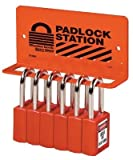 Master Lock Eighteen Padlock Wall Bracket 470-S1518, Unit