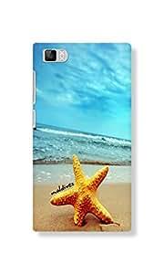 Back Cover for Xiaomi Mi3 MALDIVES BEACH