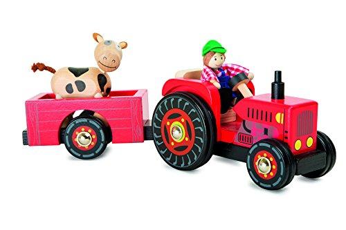 Small foot traktor mit anhänger bauernhof