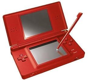 nintendo ds lite handheld console red pc video games. Black Bedroom Furniture Sets. Home Design Ideas