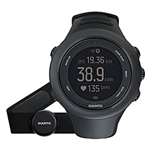 Suunto Ambit3 Sport GPS Heart Rate Monitor Black, One Size - Men's