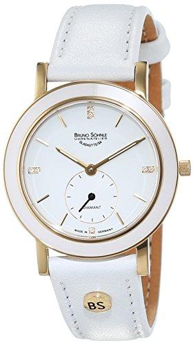 Bruno Söhnle Women's Quartz Watch with Silver Leather Naturale I Analogue Quartz 17-33140-991