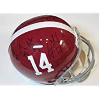2012 Alabama Crimson Tide Team Signed Autographed Football Full Size Helmet 10+ Signatures Authentic Certified Coa