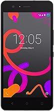 "BQ Aquaris M5 - Smartphone de 5"" (Dual SIM, FHD, 4G, Qualcomm Snapdragon 615 Octa Core A53 1.5 GHz, 2 GB de RAM, 16 GB, cámaras de 5-13 MPx, Android 5.0.2 Lollipop) negro"