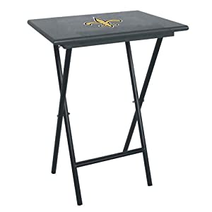 New Orleans Saints NFL TV Tray Set with Rack by Imperial