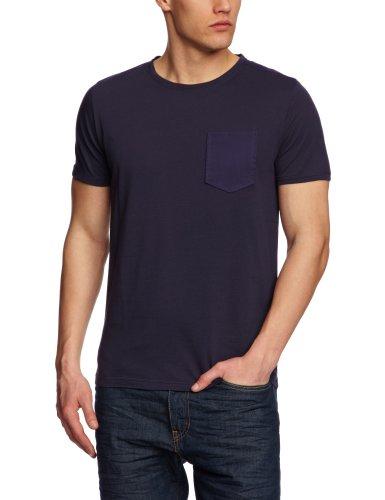 Villain Norris Patterned Men's T-Shirt Navy X-Large