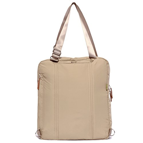 bebamour travel backpack diaper bag tote handbag purse light khaki luggage bags bags. Black Bedroom Furniture Sets. Home Design Ideas