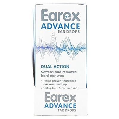 6 x Earex Advance Ear Drops 15ml