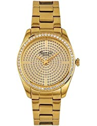 Kenneth Cole Analog Gold Dial Women's Watch - IKC4957