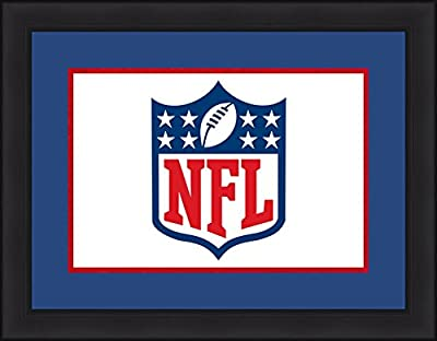 NFL Football Picture Frames with Team-Themed Matting - All 32 Teams