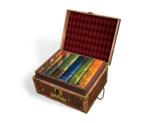 Cover of Harry Potter Hardcover Boxed Set: Books #1-7