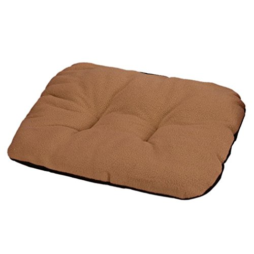Binmer(TM)Winter Warm Dog Blanket Pet Cushion Dog Bed Sleep Mat Rest & Cat House Bed Soft Comfortable (Brown)